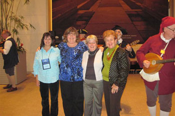 Patti Lewis attends New England Municipal Clerks Association