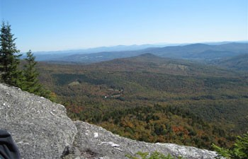View from Burnt Rock, Fall '09